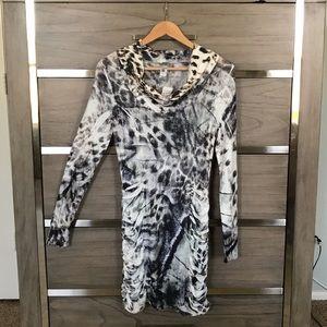S-Twelve Ruched Dress NWT